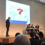 Panelsamtal under ledning av moderatorn, Widar Andersson.