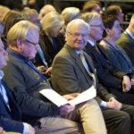 HM konungen deltog i två av dagarna. Foto: Ulf Palm.
