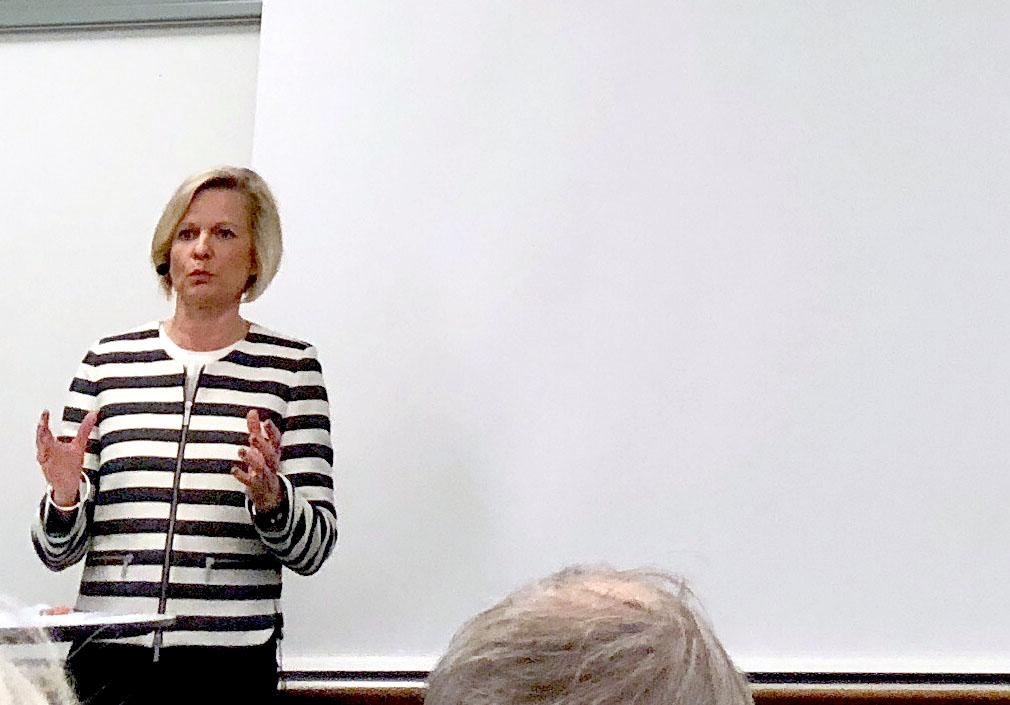 AFF:s GS Anna Wieslander om Sveriges försvarssamarbete med USA - 1 år med Trump