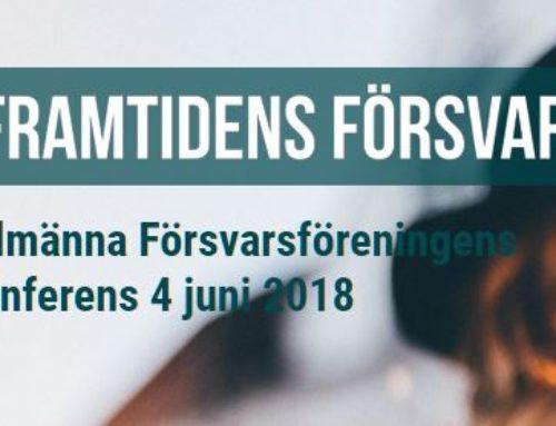 Framtidens försvar, en konferens för unga vuxna
