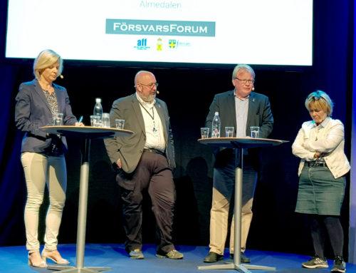 Valmanipulation och militär förmåga – ämnen i Almedalen 2018