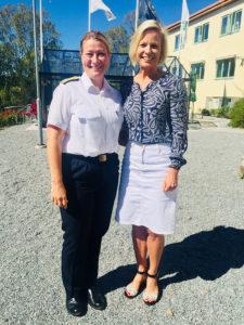 Anna Wieslander och Ewa Skoog-Haslum vid Solbackakursen 2018