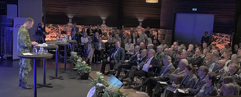 Rikskonferensen i Sälen 2019. Foto: Försvarsmakten