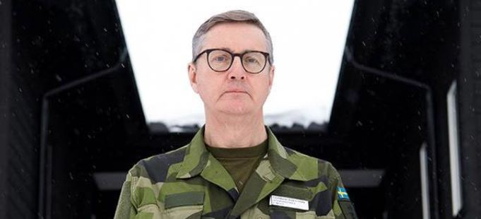 Generalmajor Gunnar Karlson, Chef för Militära underrättelse- och säkerhetstjänsten (Must). Foto: TT