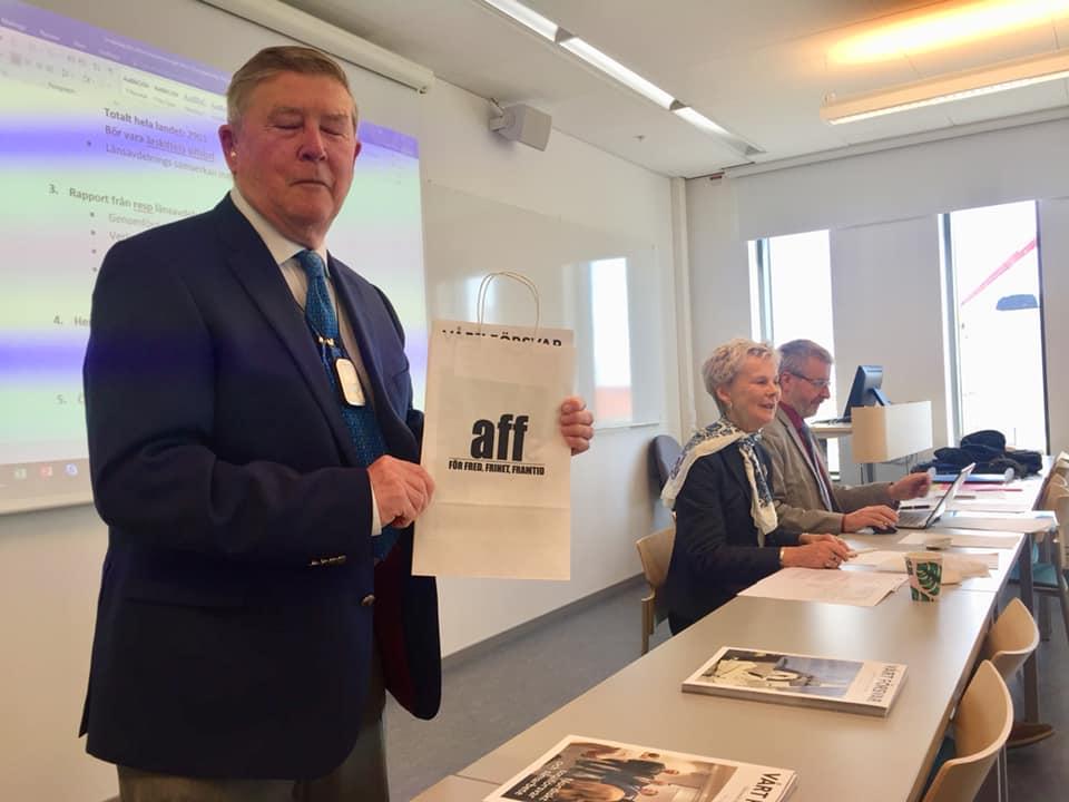 AFF Kalmar visar hur man marknadsför organisationen i regionen.