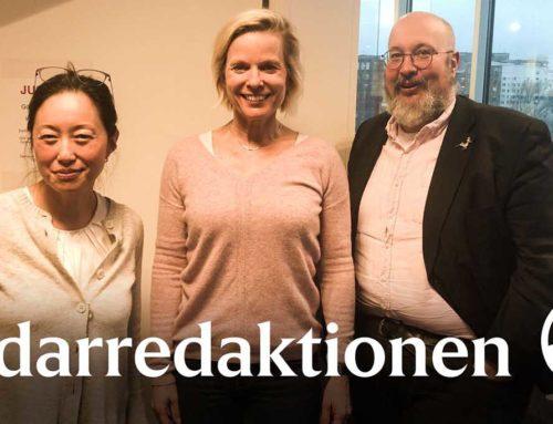 Anna Wieslander medverkar i Ledarredaktionens podd