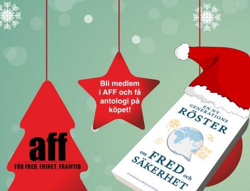 Ge bort medlemskap i AFF i julklapp!