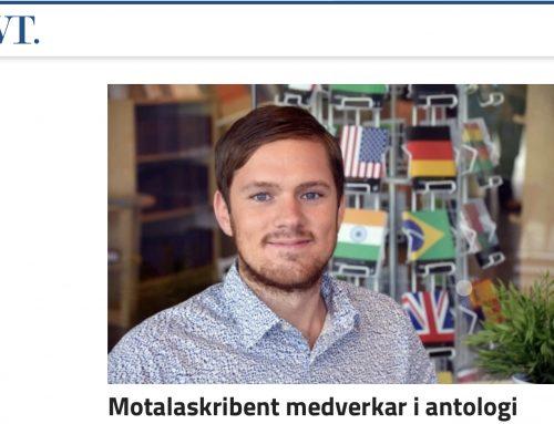 Calle Håkansson i Motala Vadstena Tidning