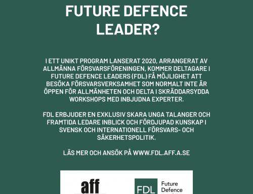 Ansökan är nu öppen till andra upplagan av FDL!