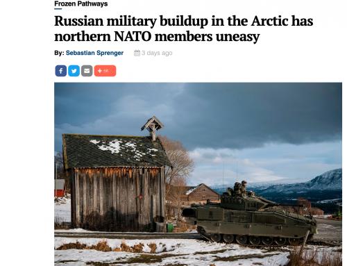 Anna Wieslander i DefenseNews om den ryska militära uppbyggnaden i Arktis
