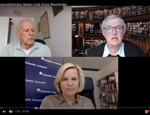 Tre podcast om den transatlantiska länken med Anna Wieslander